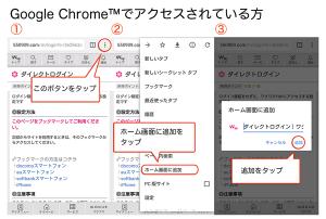 Chromeのブックマーク設定2